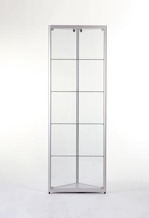 2315546 eck vitrine 500x2000 esg glas deko design klein ladenausstattung. Black Bedroom Furniture Sets. Home Design Ideas