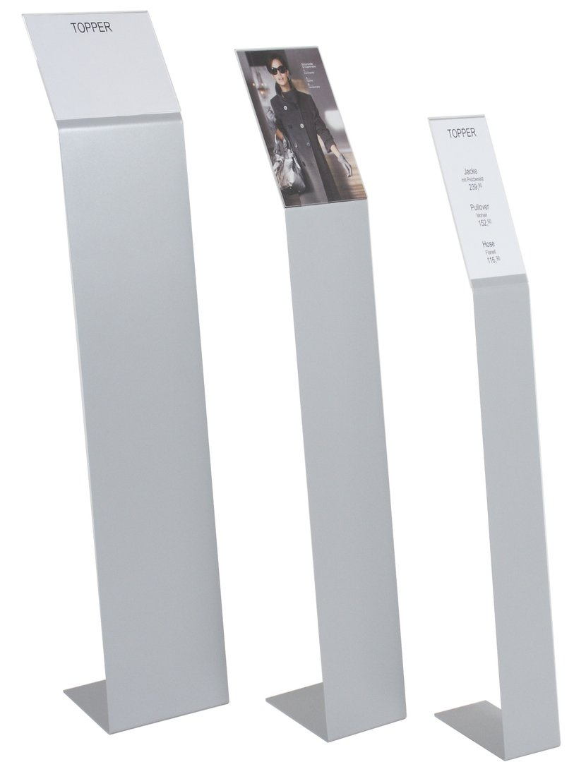 246401 infost nder topper verschiedene din formate deko design klein ladenausstattung. Black Bedroom Furniture Sets. Home Design Ideas