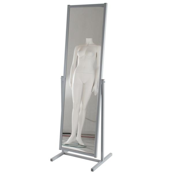 199261 spiegel konfektionsspiegel deko design klein ladenausstattung - Standspiegel mit rollen ...
